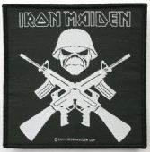 Iron Maiden - 'Crossed Guns' Woven Patch